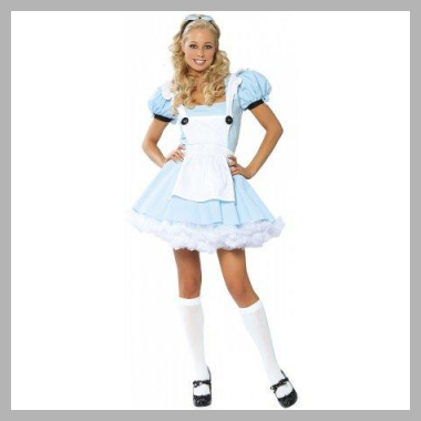 Alice in Wonderland Adult Costume Price Rank ( 54 )
