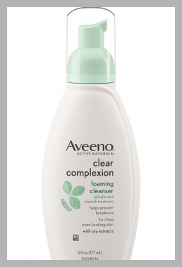 Aveeno Clear Complexion Foaming Cleanser- 6 Fl.  Oz Price Rank ( 0 )