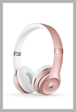 Beats Solo Wireless On-Ear Headphones - Rose Gold, Pink Gold<br><span style='text-align: center;'>$139.99 target.com</span>