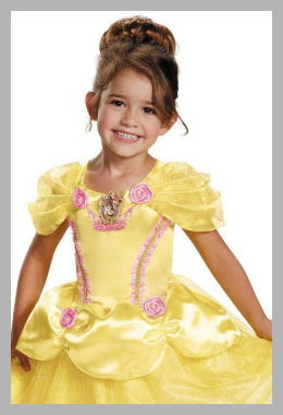Beauty and the Beast Belle Classic Child Halloween Costume<br><span style='text-align: center;'>$23.39 walmart.com</span>