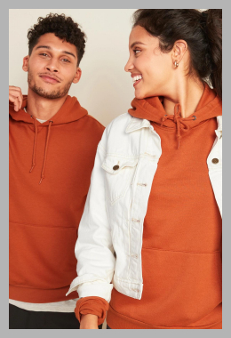 Classic Gender-Neutral Pullover Hoodie for Men  Women<br><span style='text-align: center;'>$21.97 gap.com</span>