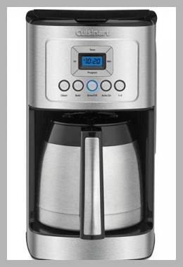 Cuisinart Coffee Makers 12 Cup Programmable Thermal Coffeemaker<br><span style='text-align: center;'>$103.99 walmart.com</span>