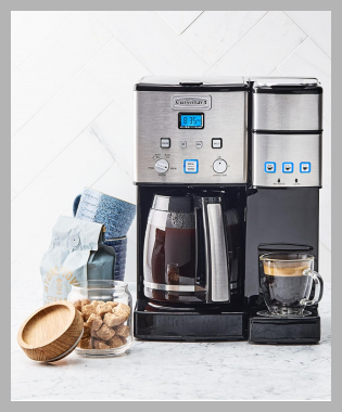Cuisinart Ss-15 Combo Coffee Maker<br><span style='text-align: center;'>$199.99 macys.com</span>