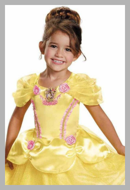 Disney Princess Belle Classic Toddler Halloween Costume Price Rank ( 49 )