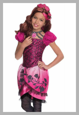 Ever After High Briar Beauty Girls` Child Halloween Costume Price Rank ( 46 )