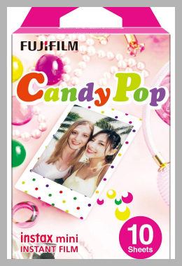 Fujifilm Instax Mini Candy Pop Film<br><span style='text-align: center;'>$8.99 target.com</span>