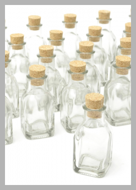 Gartner Studios Cork Top Favor Jars, 18pk Price Rank ( 0 )