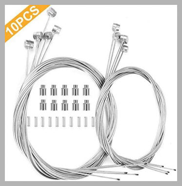 Hyacinth 10PCS Premium Bike Brake Cable Professional Bicycle Brake line for Mountain and Road Free for End Caps and End Ferrule Hyacinth<br><span style='text-align: center;'>$6.99 amazon.com</span>