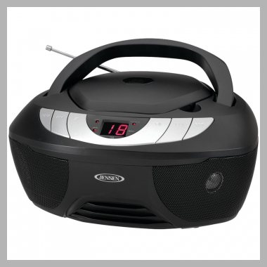 Jensen Cd-475 Portable Stereo Cd Player With Am/fm Radio<br><span style='text-align: center;'>$28.91 walmart.com</span>