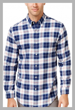 John Ashford Mens Flannel Button Up Shirt<br><span style='text-align: center;'>$14.89 walmart.com</span>