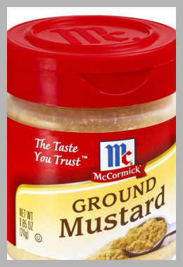 McCormick Ground Mustard, 0.85 oz.  Bottle Price Rank ( 0 )