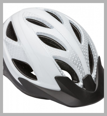 Schwinn Pathway Adult Bicycle Helmet, ages 14+, white<br><span style='text-align: center;'>$11.37 walmart.com</span>
