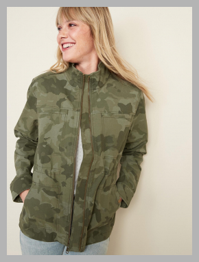 Scout Utility Jacket for Women<br><span style='text-align: center;'>$30.00 gap.com</span>