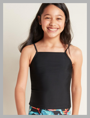 Tankini Top for Girls<br><span style='text-align: center;'>$10.97 gap.com</span>