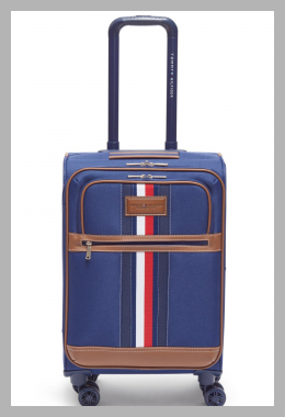 Tommy Hilfiger Logan 21`` Softside Carry-On Spinner<br><span style='text-align: center;'>$79.99 macys.com</span>