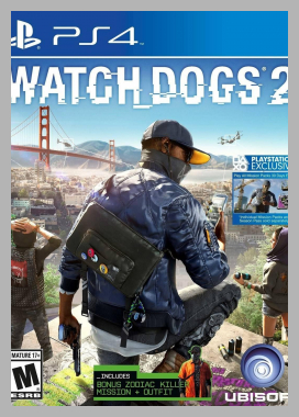 Watch Dogs 2 - PlayStation 4 Price Rank ( 61 )