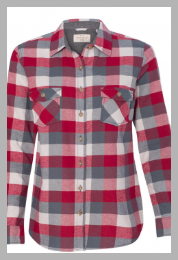 Weatherproof - Vintage Women`s Brushed Flannel Long Sleeve Shirt - W164761<br><span style='text-align: center;'>$28.91 walmart.com</span>