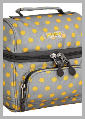 J World Corey Lunch Bag with Front Pocket - Candy Buttons, Candy Button<br><span style='text-align: center;'>$20.49 target.com</span>