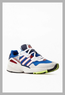 adidas Mens White  Royal Yung-96 Shoes - White/Royal<br><span style='text-align: center;'>$70.00 pacsun.com</span>