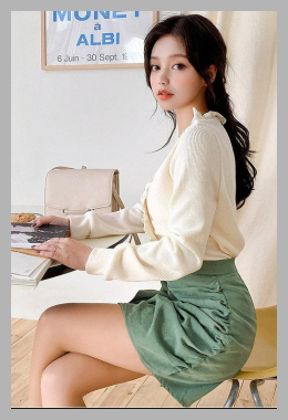 chuu | Inset Shorts Draped Miniskirt | YesStyle<br><span style='text-align: center;'>$29.36 yesstyle.com</span>