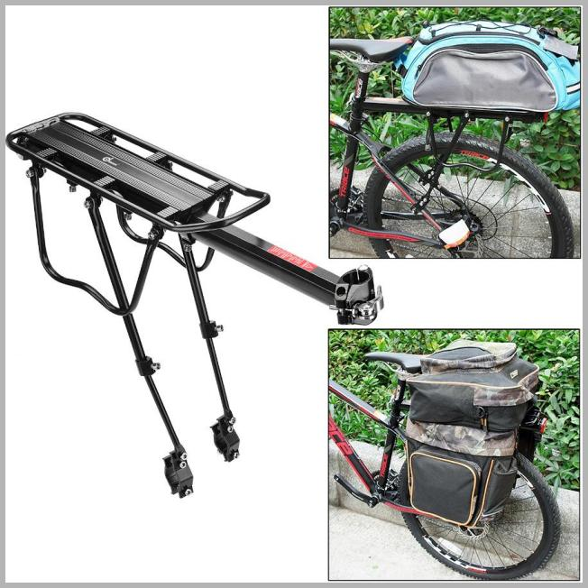 110 lbs Capacity Adjustable Rear Bike Rack Carrier Luggage Cargo Bicycle Accessories - Walmart.com Price Integrity Rank ( 0 )