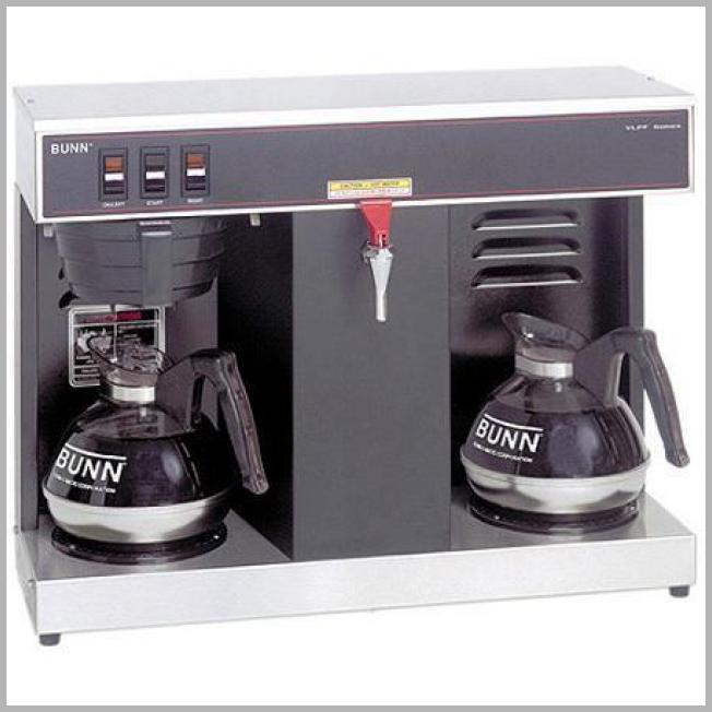 BUNN 12-Cup Automatic Commercial Coffee Brewer with 2 Warmers Price Rank ( 91  )