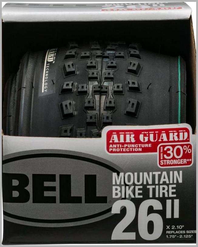Bell 26`` Tread 1 Mountain Bike Tire - Black Price Integrity Rank ( 0 )