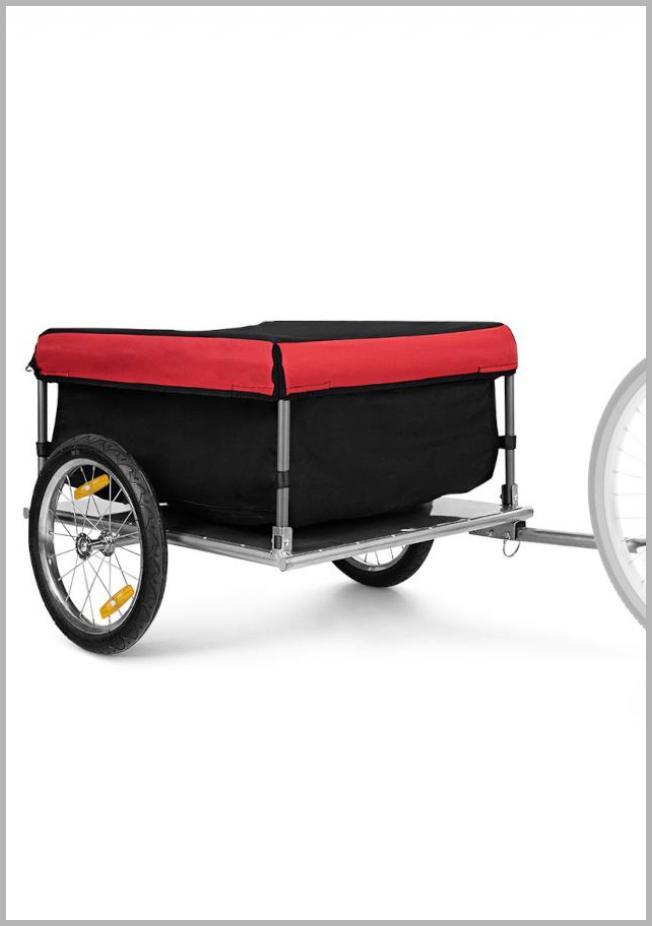 Costway Bike Cargo / Luggage Trailer w/ Folding Frame & Quick Release Wheels Red/Black - Walmart.com Price Integrity Rank ( 0 )