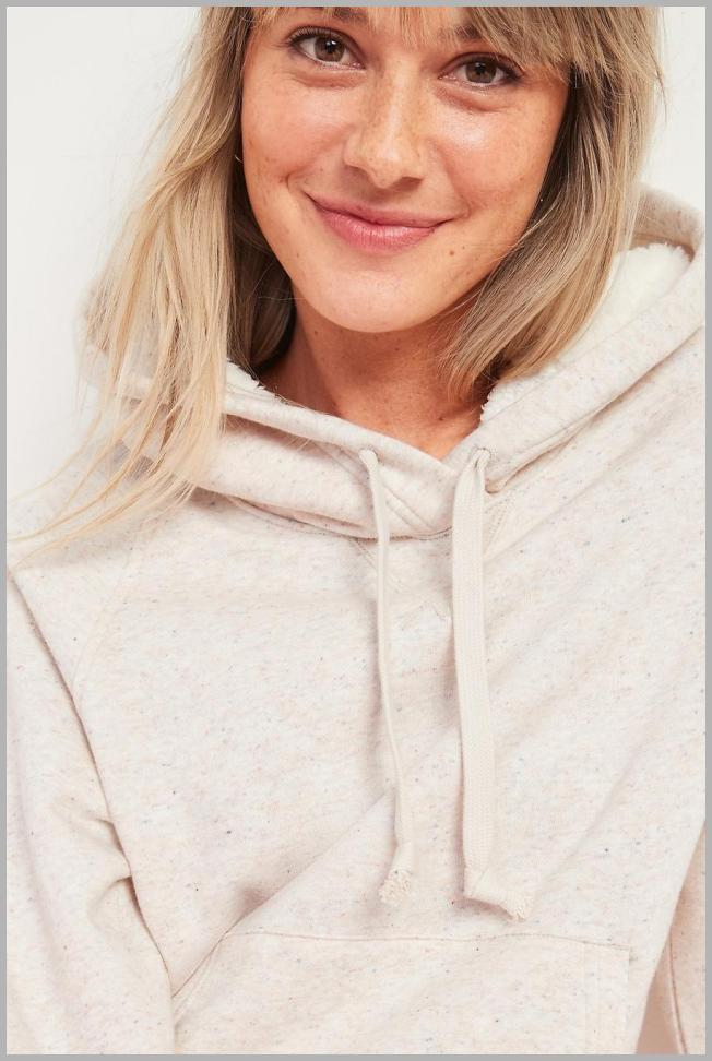 Cozy French Terry Pullover Hoodie for Women Price Rank ( 9  )