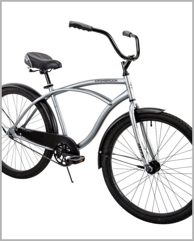 Huffy 26 inch  Cranbrook Men ft s Beach Cruiser Comfort Bike Silver - Walmart.com Price Integrity Rank ( 0 )