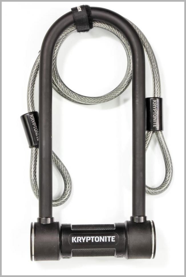 Kryptonite Level 5 14 mm U-Lock Bicycle Lock with Looped Bike Security Cable - Walmart.com Price Integrity Rank ( 0 )