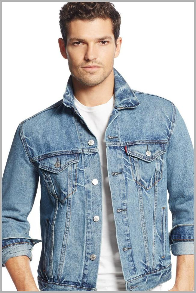 Levi`s  Men`s Denim Trucker Jacket Price Rank ( 55  )