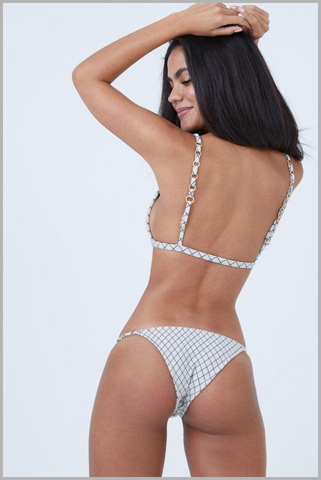 Linx Chain Straps Bikini Top - Blueline Lattice Price Rank ( 38  )