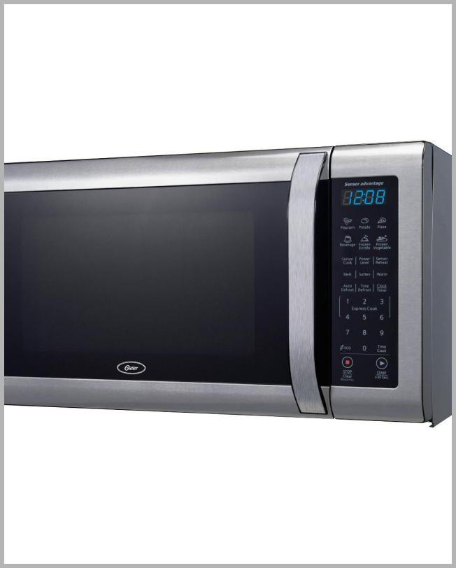 Oster 1.6 cu ft 1100W Microwave - Stainless Steel OGCMWX16S2BS-11 Price Rank ( 58  )