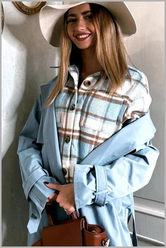 Plaid Buttoned Curved Hem Hooded Coat Price Integrity Rank ( 0 )