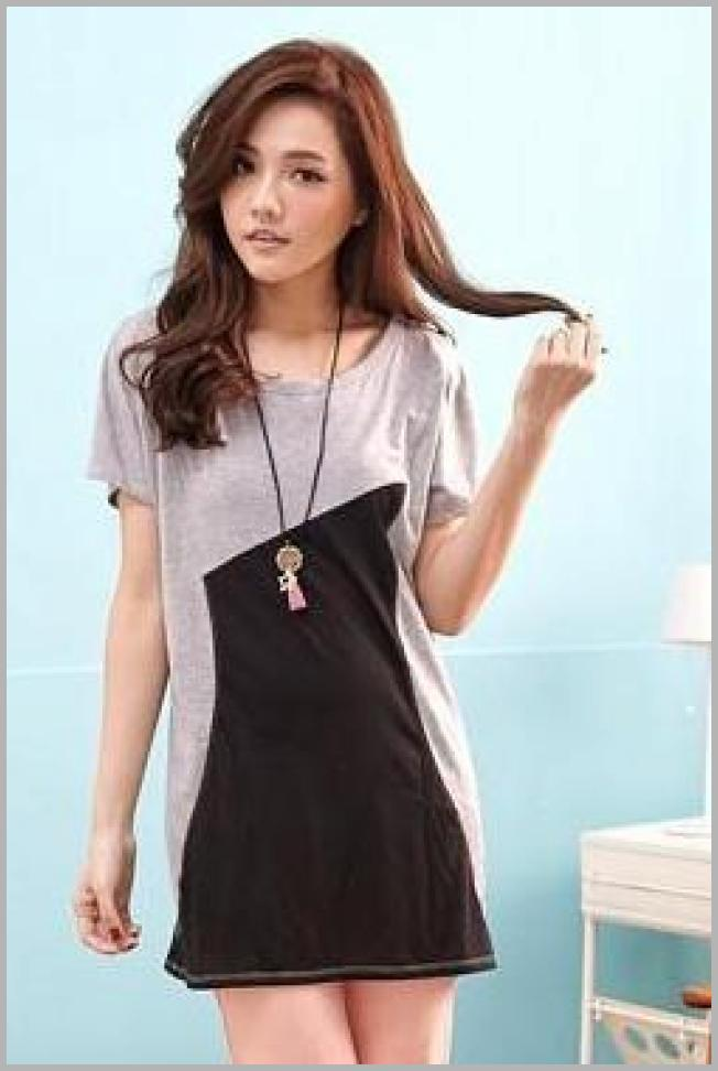 RingBear  Color-Block Long Top   YesStyle Price Rank ( 100  )