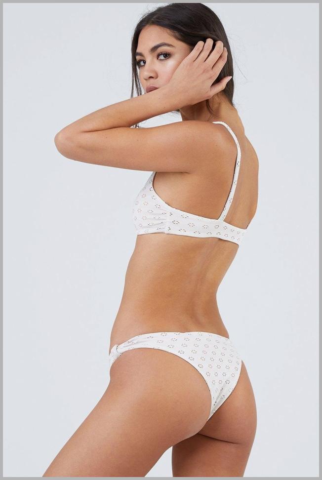 Rochelle Skimpy Bikini Bottom - Pebble Price Rank ( 50  )