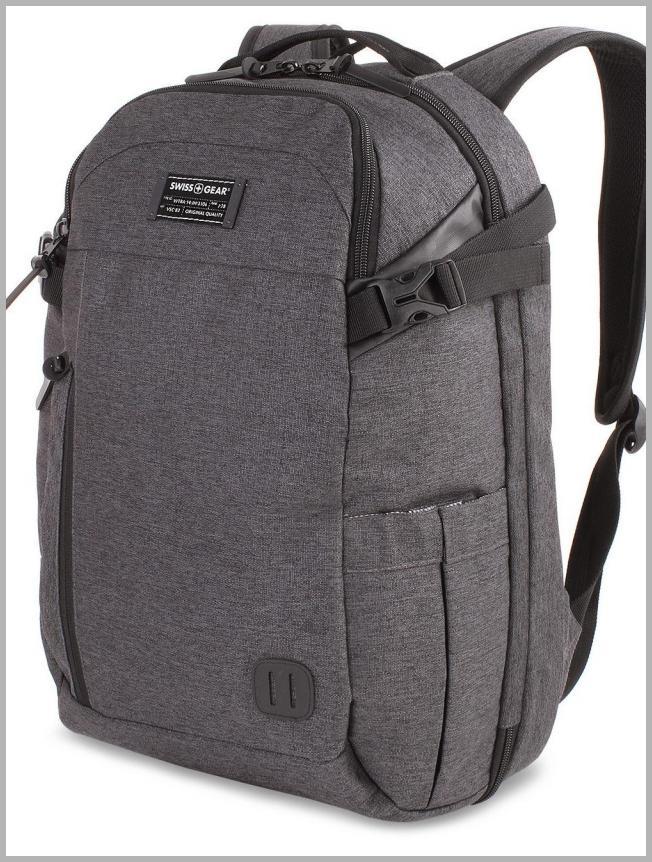 ``SWISSGEAR Getaway 18```` Weekend Laptop Backpack - Heather Gray, Black`` Price Rank ( 72  )