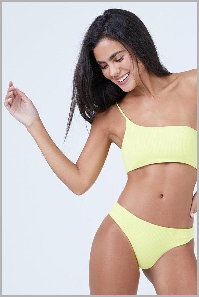 Savannah Cheeky Bikini Bottom - Sunshine Yellow Price Rank ( 55  )
