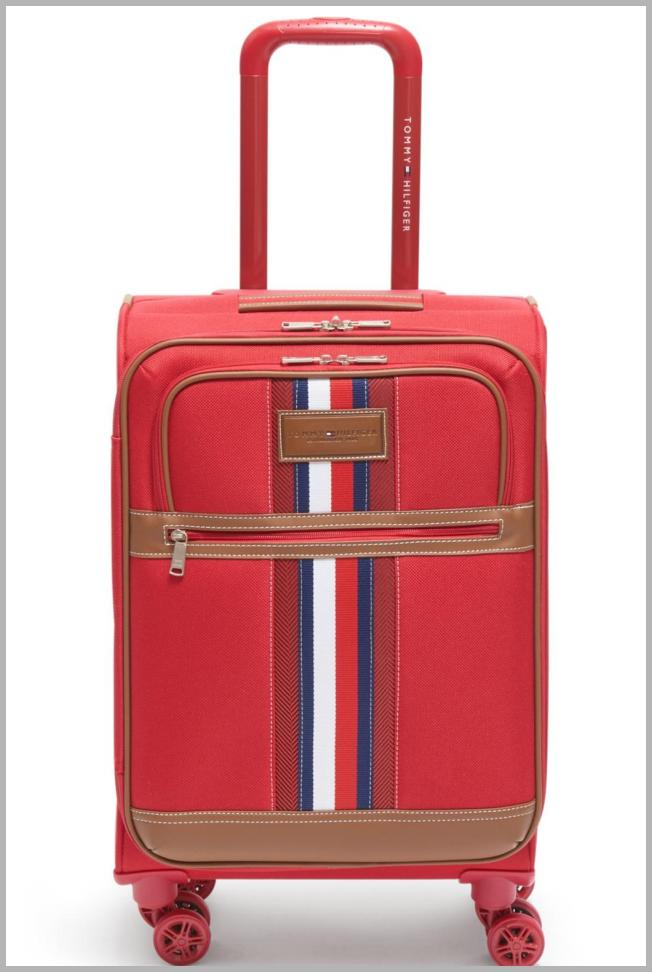 Tommy Hilfiger Logan 21`` Softside Carry-On Spinner Price Rank ( 47  )