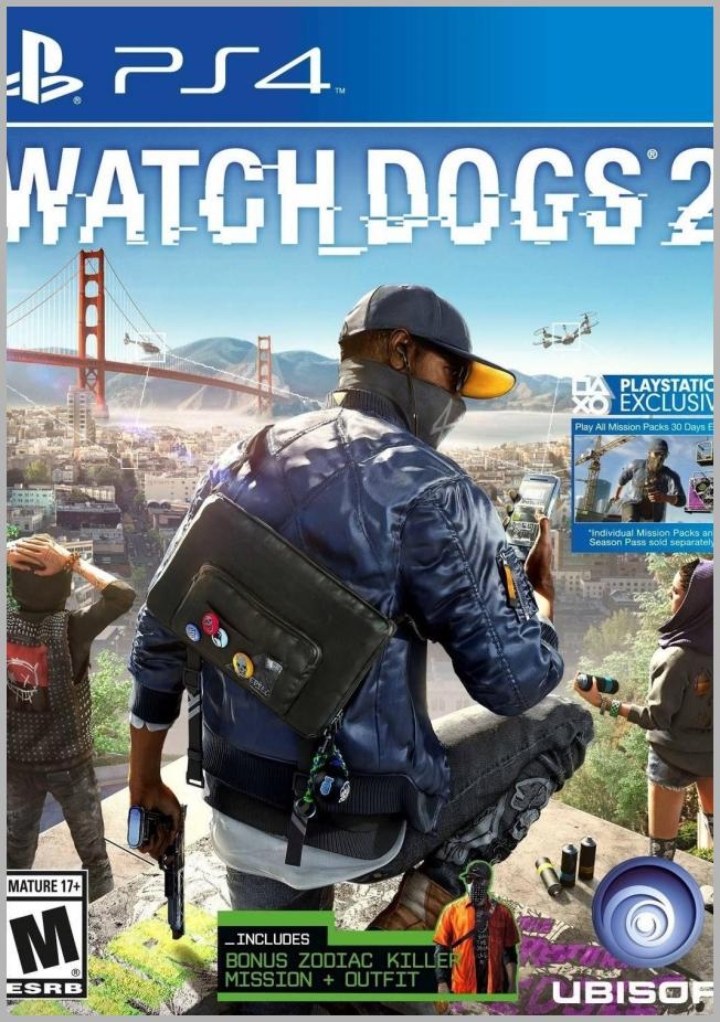 Watch Dogs 2 - PlayStation 4 Price Rank ( 79  )
