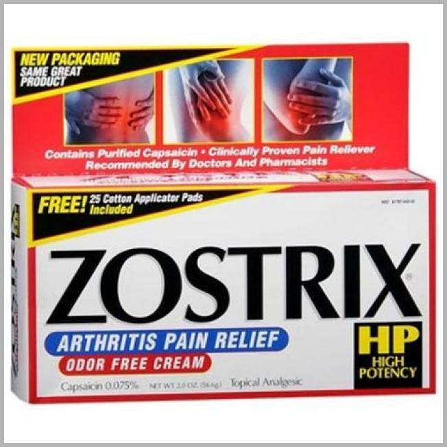 Price History Report | Zostrix Cream Triple Strength 0075