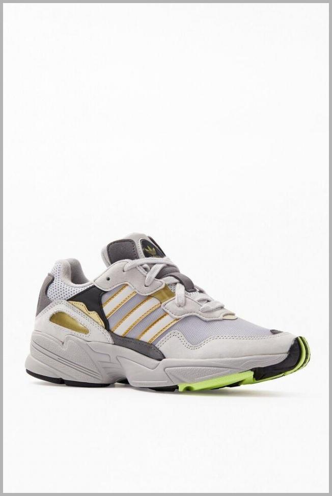 adidas Mens Grey  Gold Yung-96 Shoes - Grey/Gold Price Integrity Rank ( 71 )